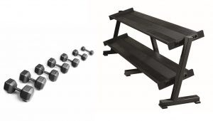 Pro Hex DB Stock Sets w/o Racks 5 - 50 lbs. in 5 lbs increments
