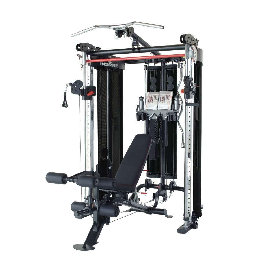 Inspire FT2 Functional Trainer (w/ SCS Bench, Leg Att., and Leg Kit)