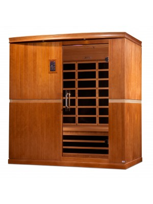 "Dynamic ""Grande Madrid"" 4-person Low EMF Far Infrared Sauna"