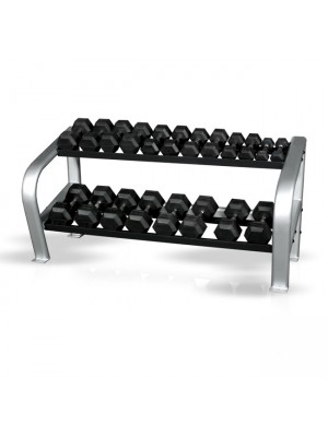 Inflight 5004 Deluxe 2-Tier Dumbbell Rack