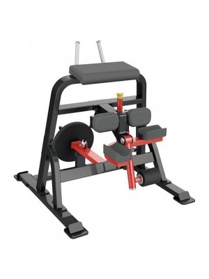 Iron Series Plate Loaded Element Fitness Iron 7026 Leg Curl (Default)